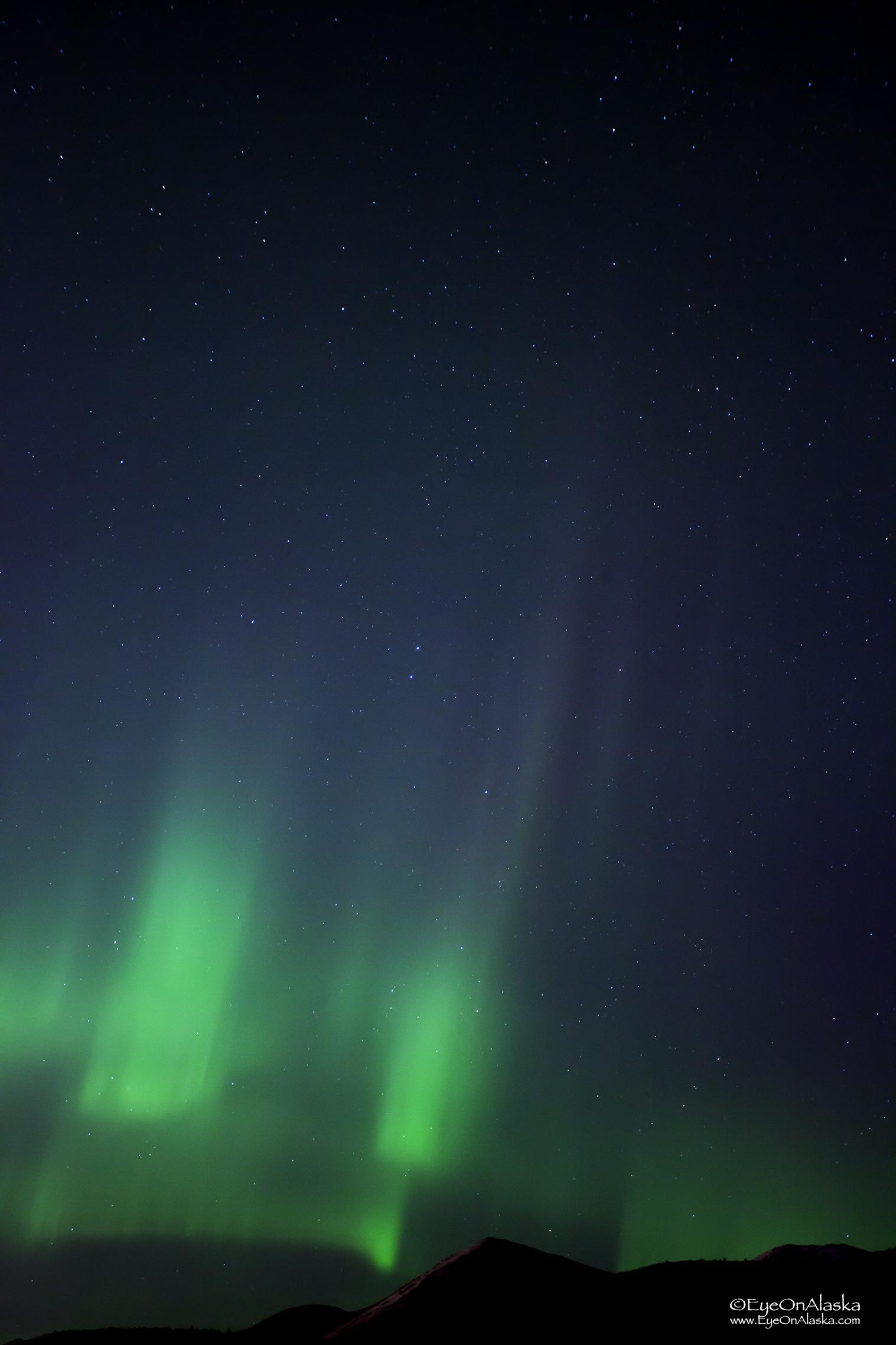 Some nice aurora curtains.