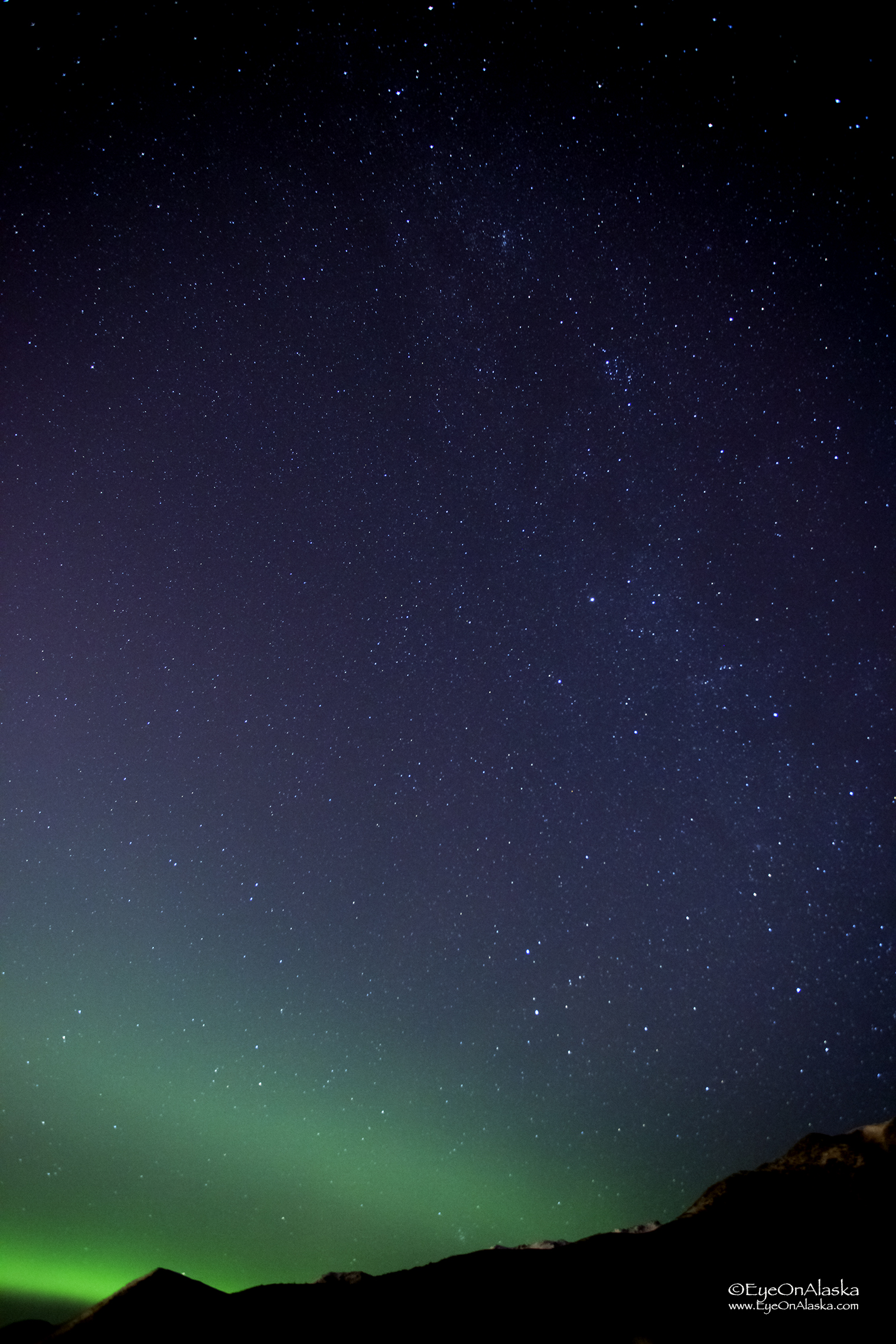 The Milky Way was very bright again tonight.