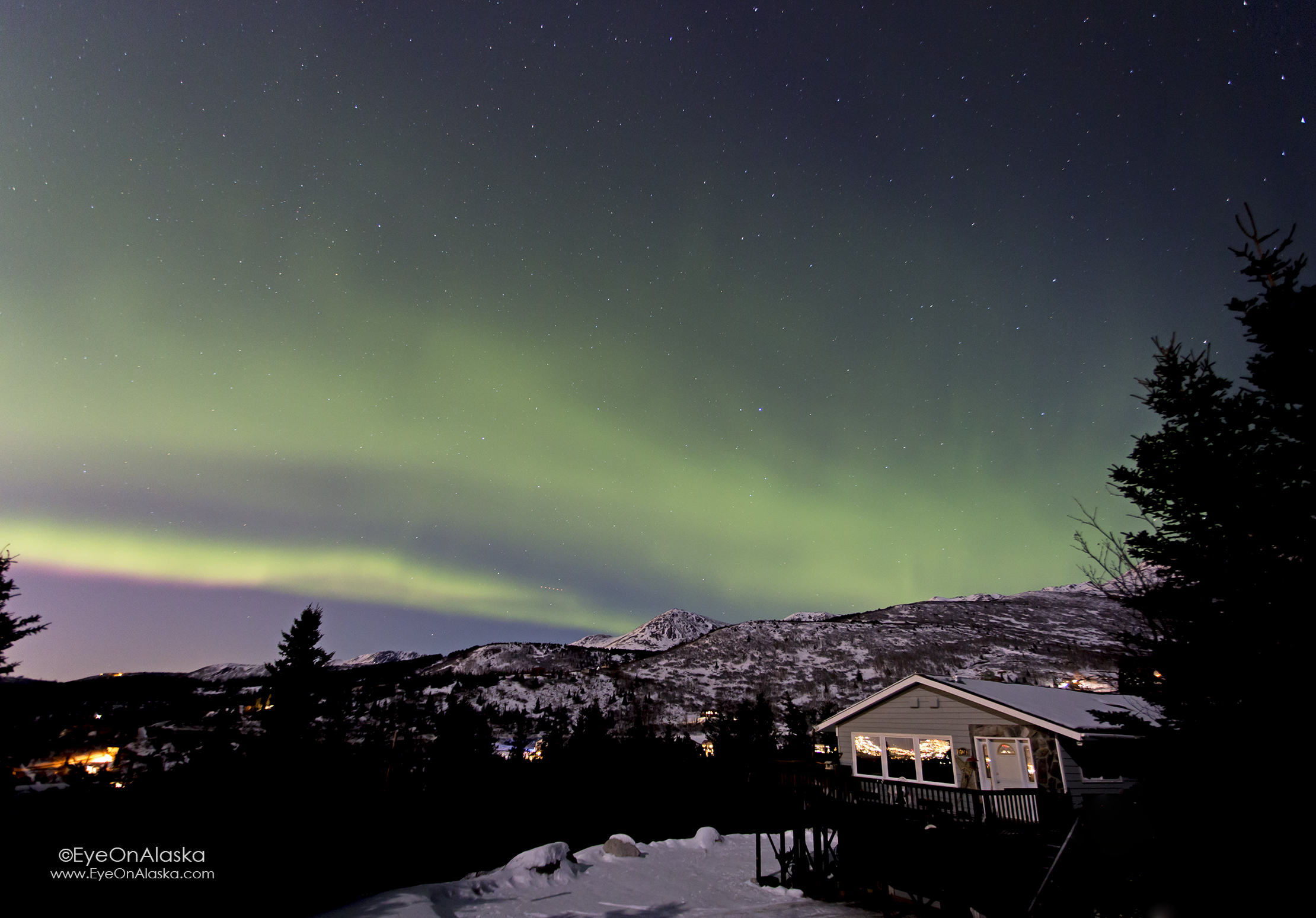 This is why we live here. Our house in Bear Valley.
