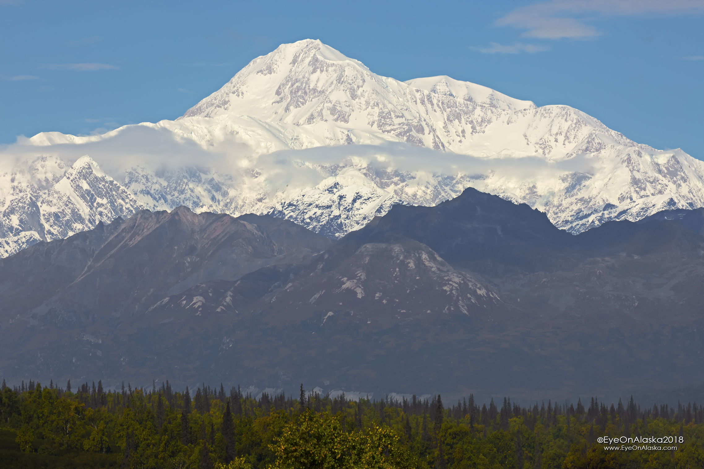 This is how to start a trip to Denali!  From the Denali View South rest area.  It's going to be a good trip.