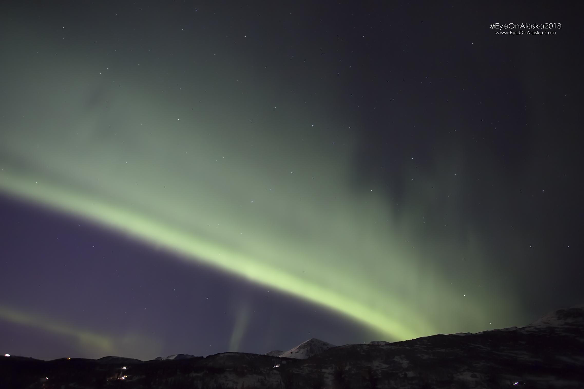 big band of Aurora that went from horizon to horizon.