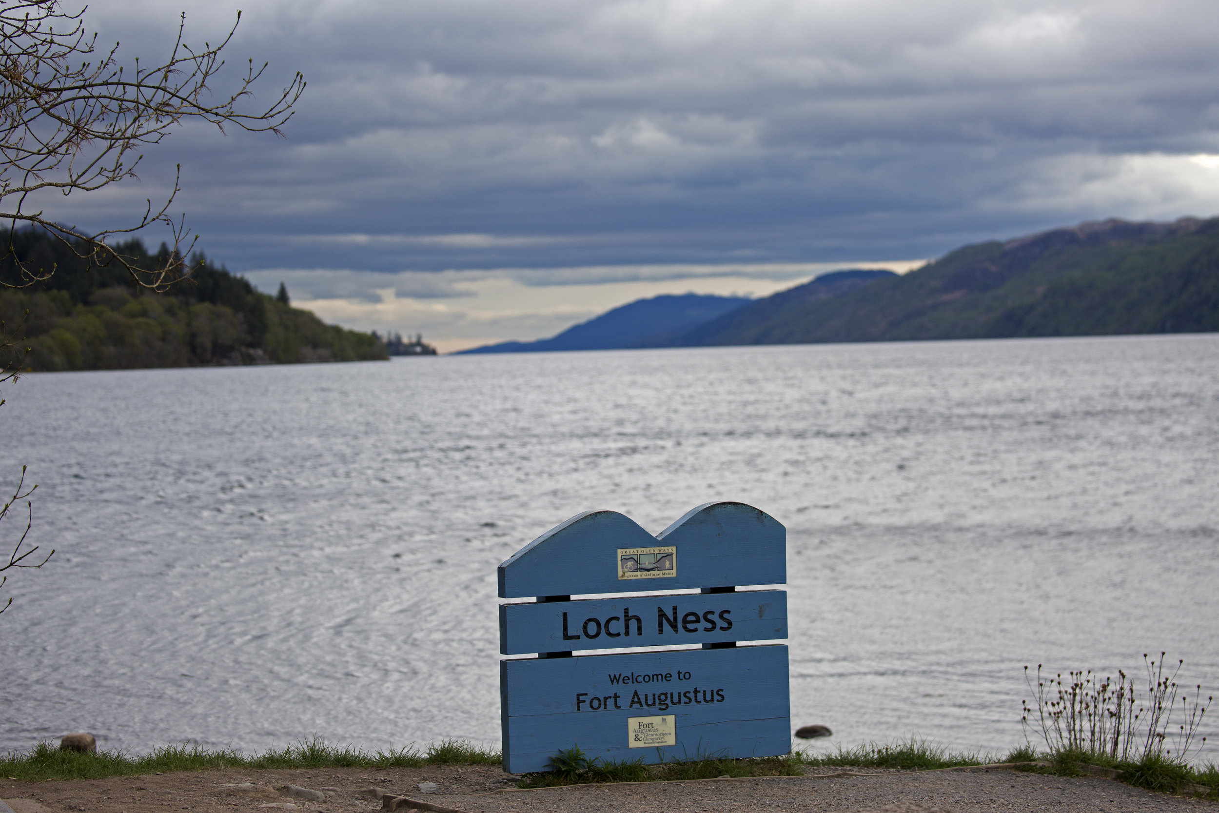 Time to head back onto Loch Ness.