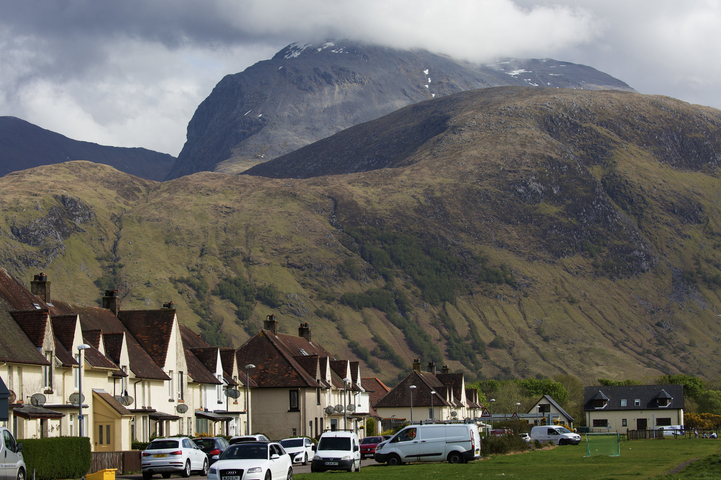 Ben Nevis above Fort William.