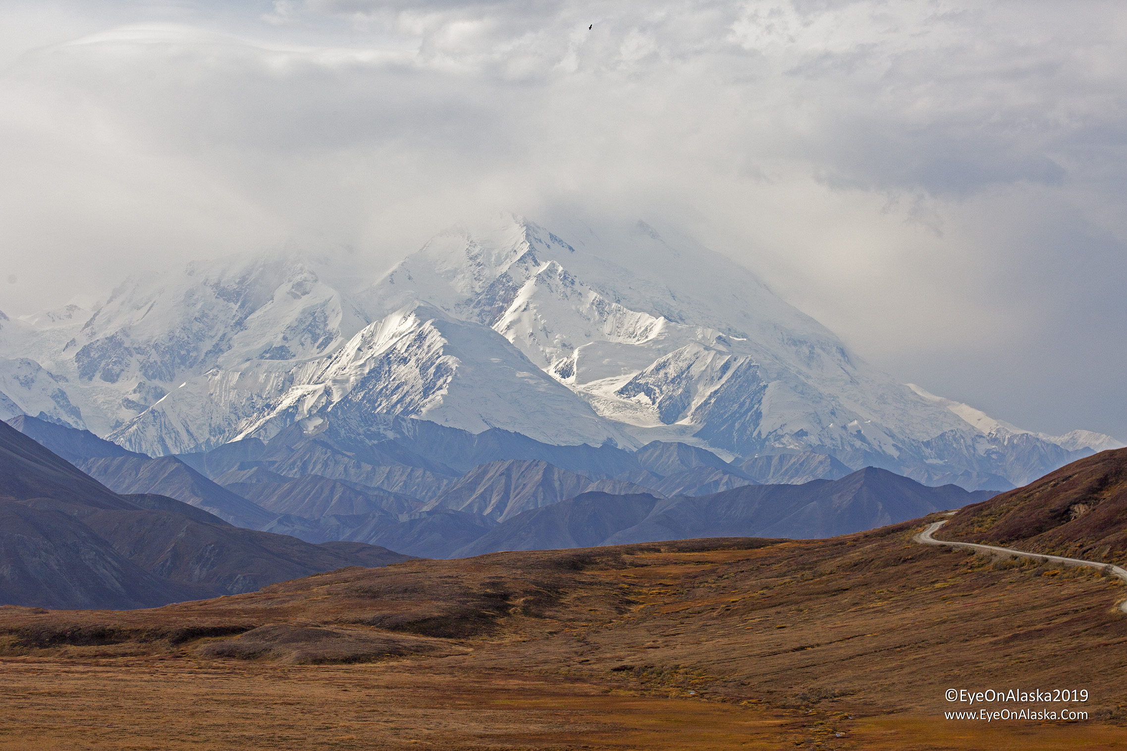 Denali from the Stoney Dome overlook.  Not bad.
