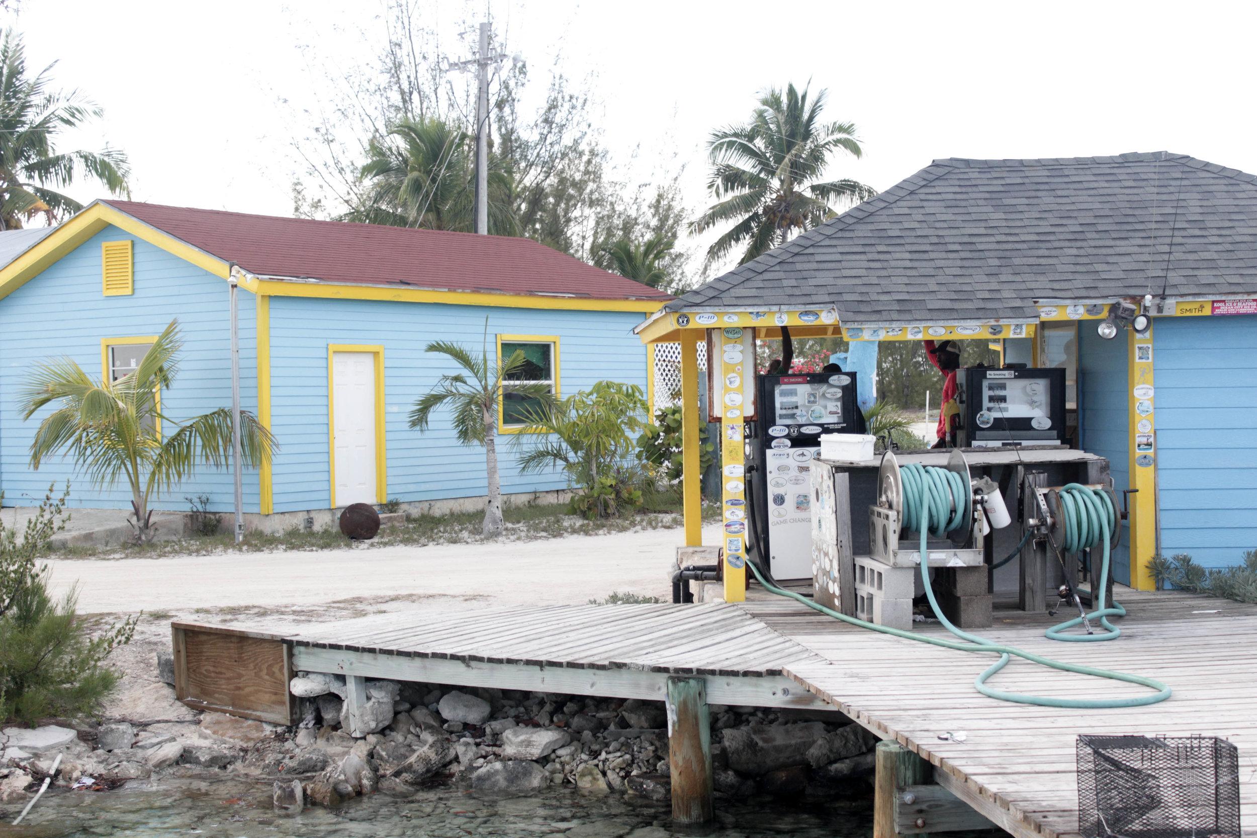 The marina at Hawk's Nest.