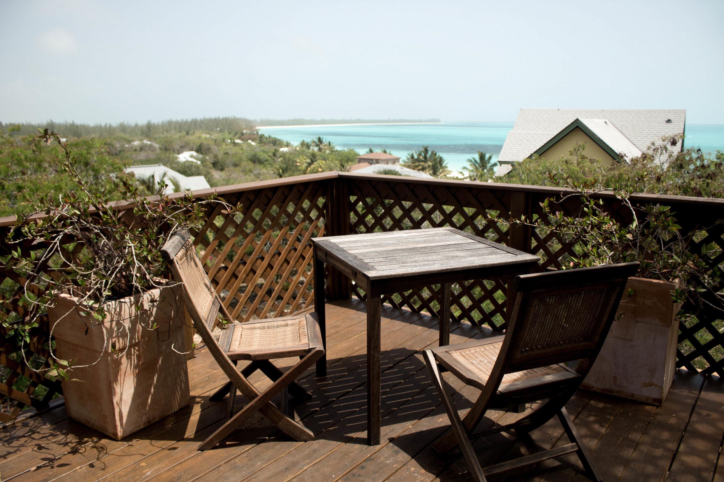 Restaurant at  Shanna's Cove, beach resort.