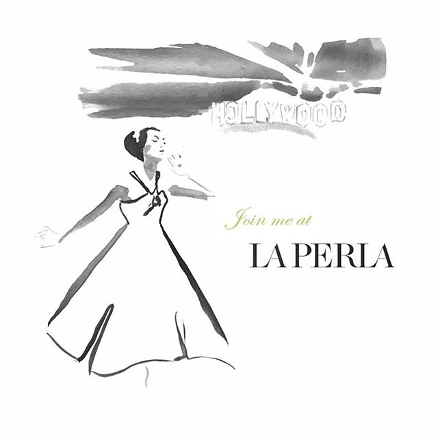 So excited to announce I will be joining luxury lingerie brand @laperlalingerie for a one-night live illustration event at the @southcoastplaza in Costa Mesa, California 🥂✨ So feel free to join us on August 24 from 6-7pm for our exclusive sketch event!