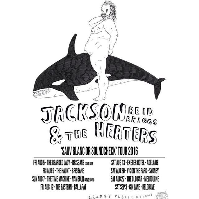 Jackson Reid Briggs tour poster 2016