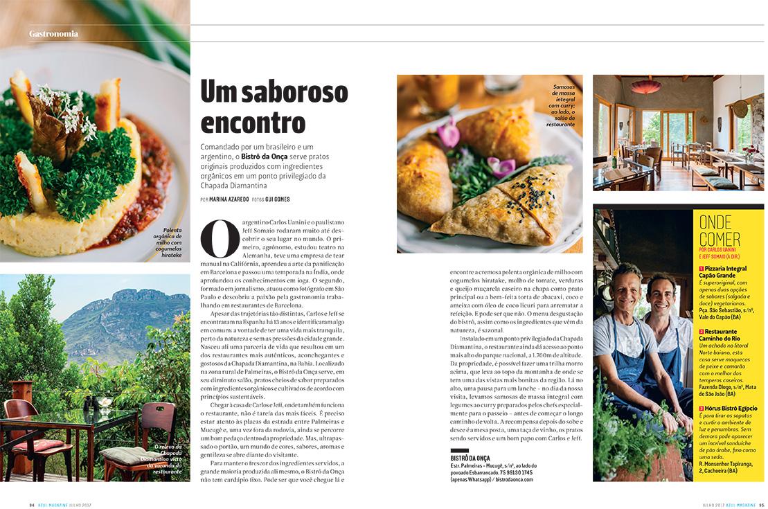 Revista Azul/ Julho 2017