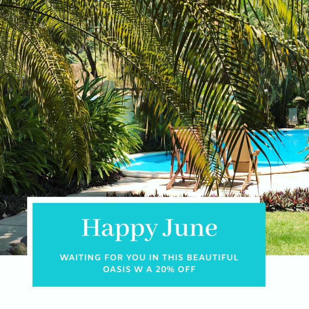20% de descuento para todo el mes de Junio!!!!! y para Julio contamos con una oferta limitada del 10%. Contatanos para mas informacion a villasayulita@hotmail.com