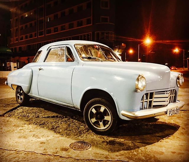 One of the unique cars of Cuba, 1948 Studebaker Commander. #cuba #travel #travelgram #travelpics #traveltheworld #vintagecar #studebaker #studebakercommander #rarecar #classiccars #cars