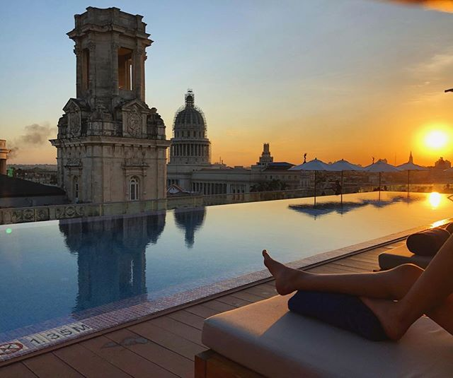 View from the top 😍. . . . . . . . The new Kempinski hotel in Havana offers gorgeous views like these 24/7 🙌🏼