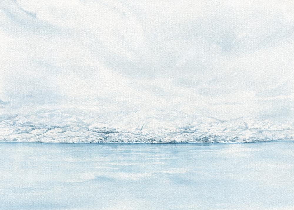 Kalamalka lake painting