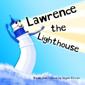 The bay is a hustling bustling place. Everyone loves to play in the water. Everyone but Lawrence that is. Lawrence is a Lighthouse who's afraid of the OCEAN!!!