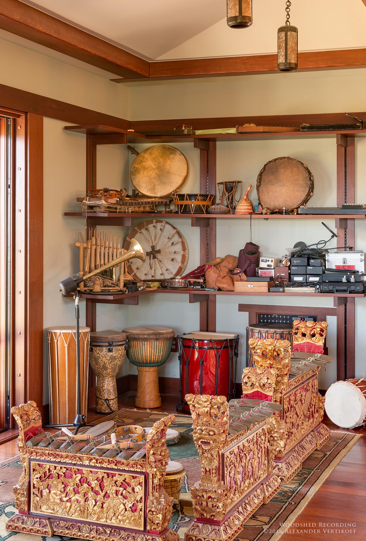 woodshed recording studio malibu gamelans