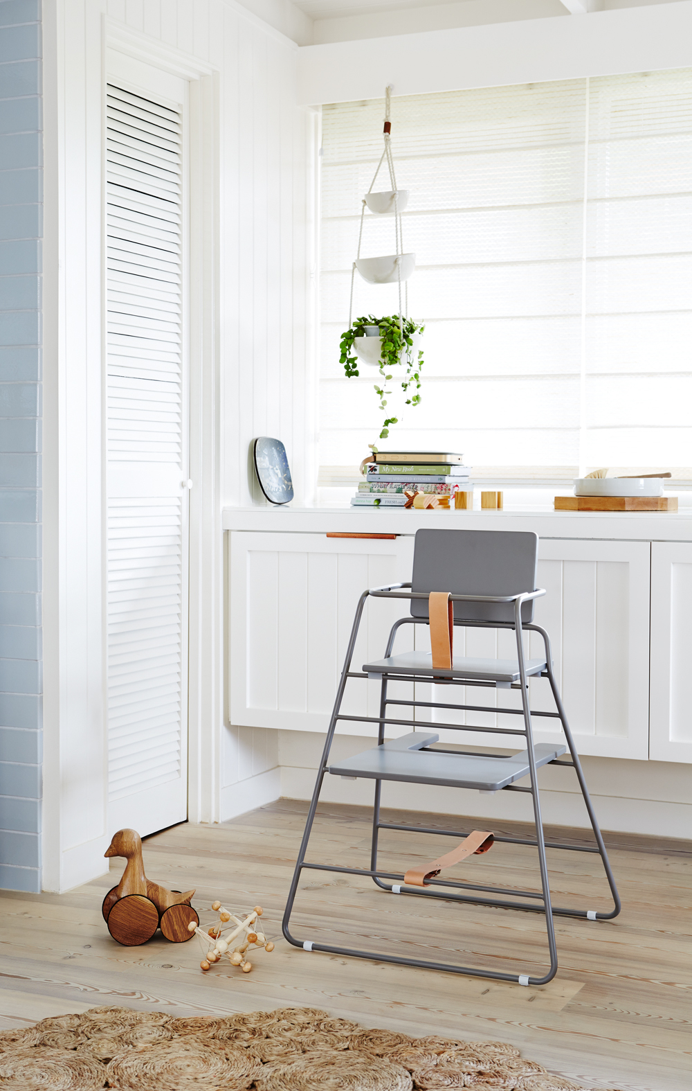 When your baby has a better chair than you...introducing the  Tower Chair  from  Designstuff . Styling:  Simone Hagg.  Photography:  Annette O'Brien .