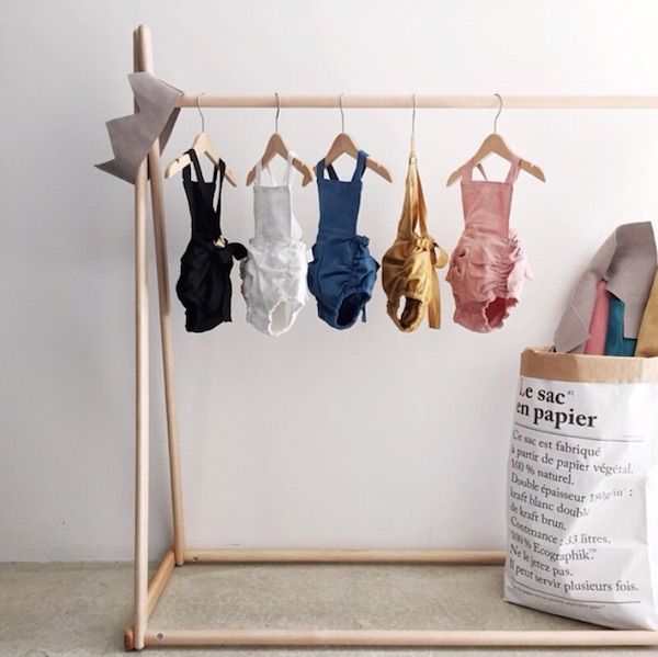 Hubble and Duke's  versatile all year round linen rompers in the most beautiful colours.
