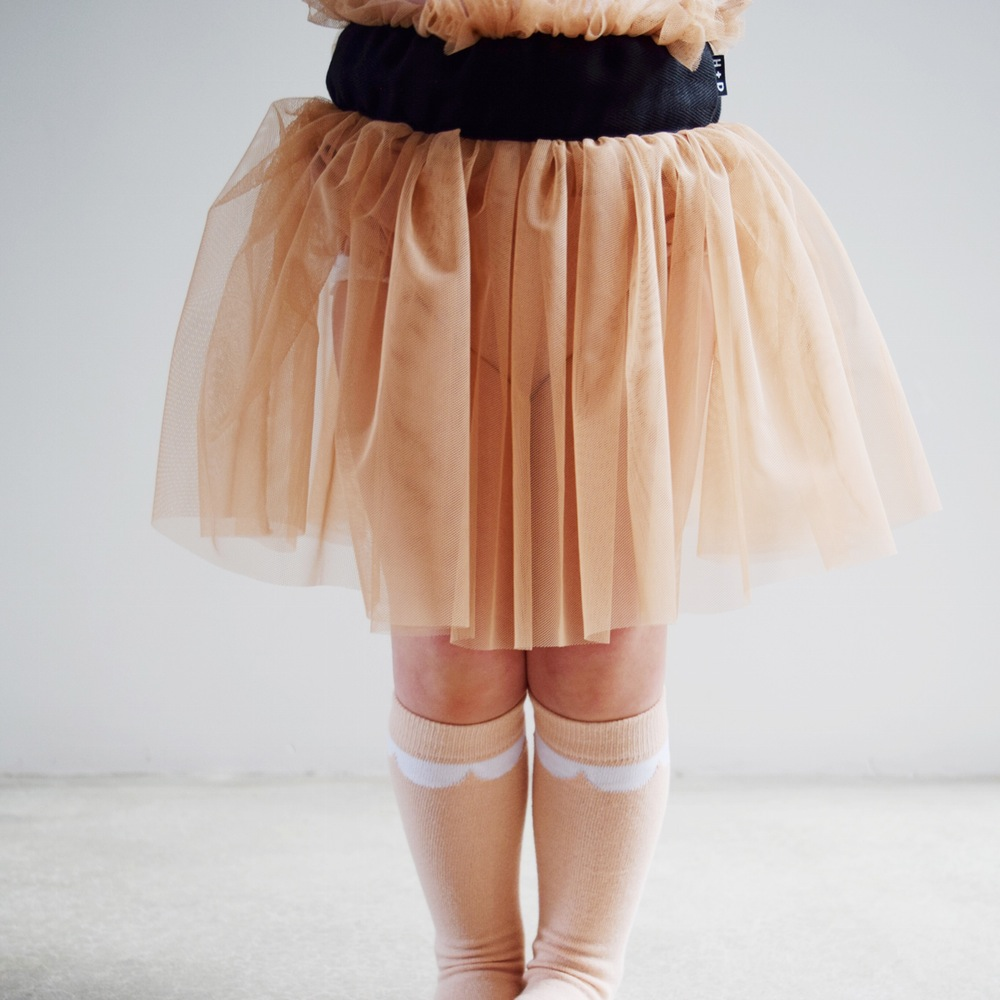 That tulle, that colour, those socks! Gah!!!