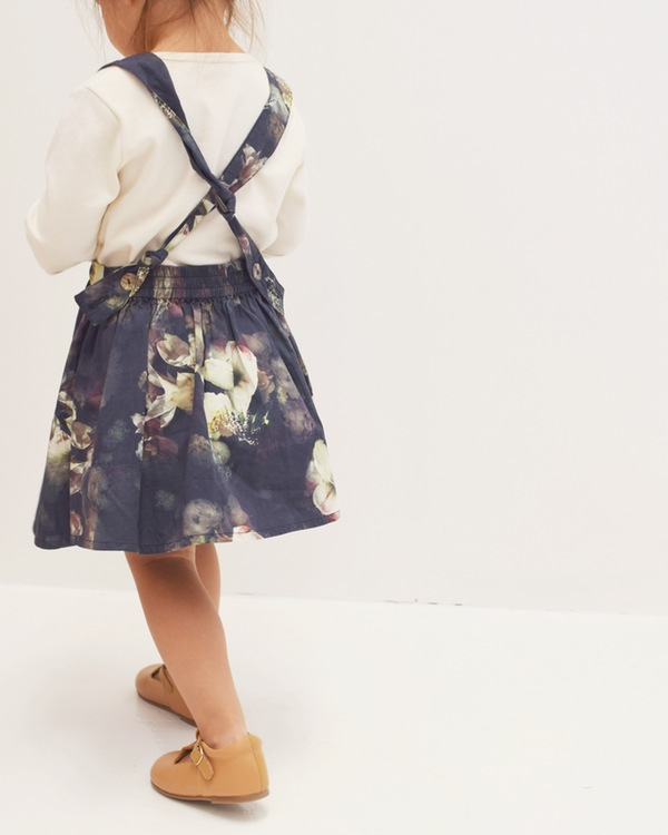 Hubble & Duke x Ashley Woodson Bailey  Pinafore Skirt . A must for Autumn dressing. Totally divine!