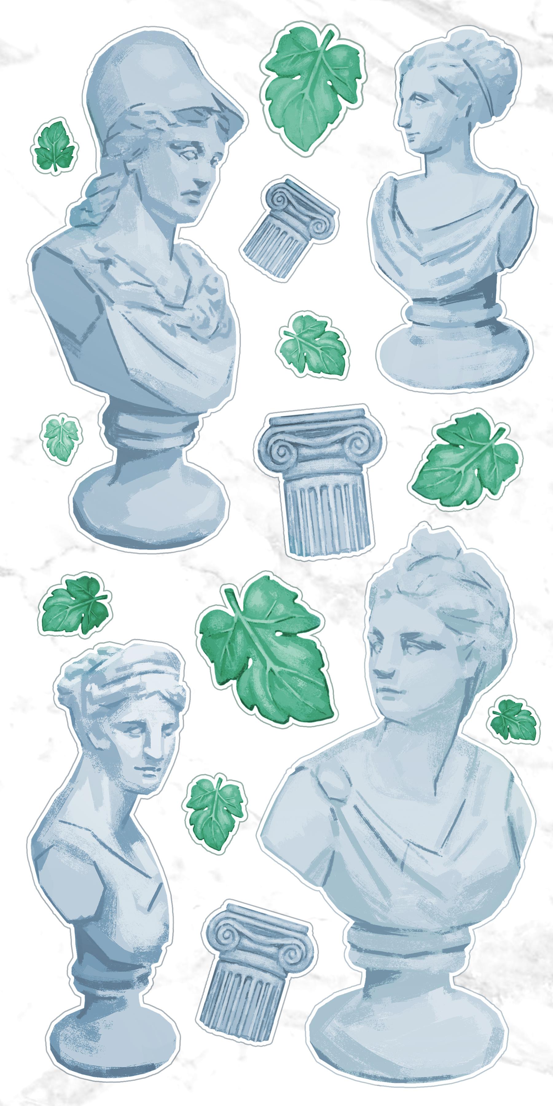 Statuette Stickers