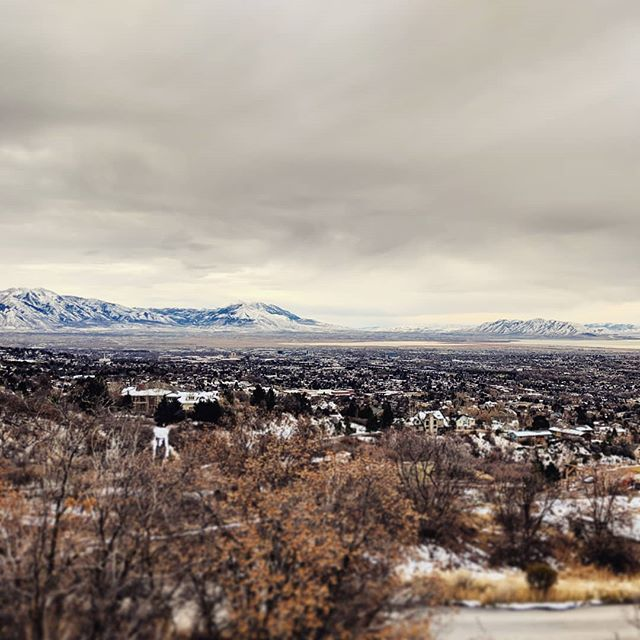 Gathering some info from a beautiful property in Provo where we have the privilege of designing a new exciting project.  There are worse sites... 🏔️🏔️