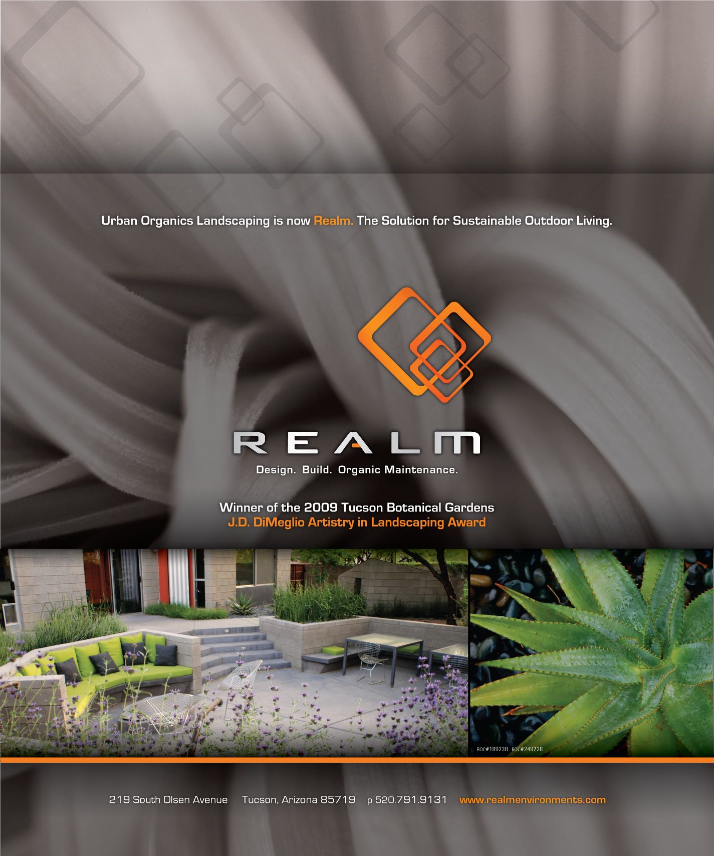 Urban Organics Landscaping is now REALM