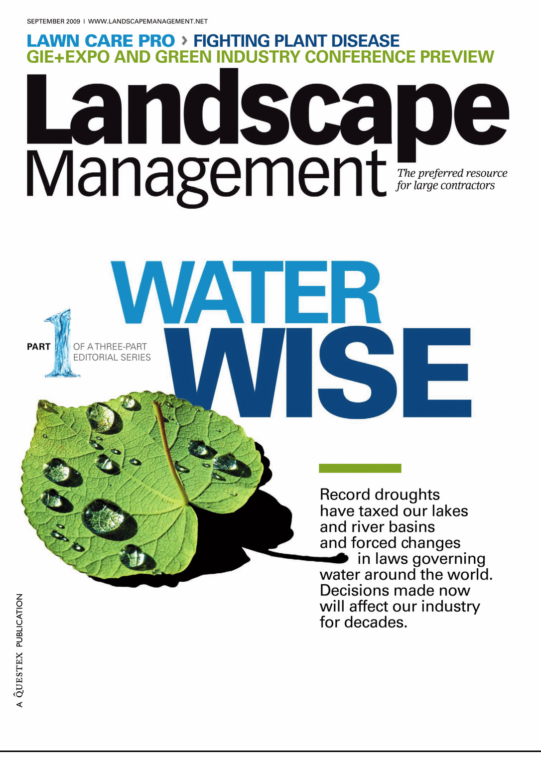 REALM in Landscape Management Magazine