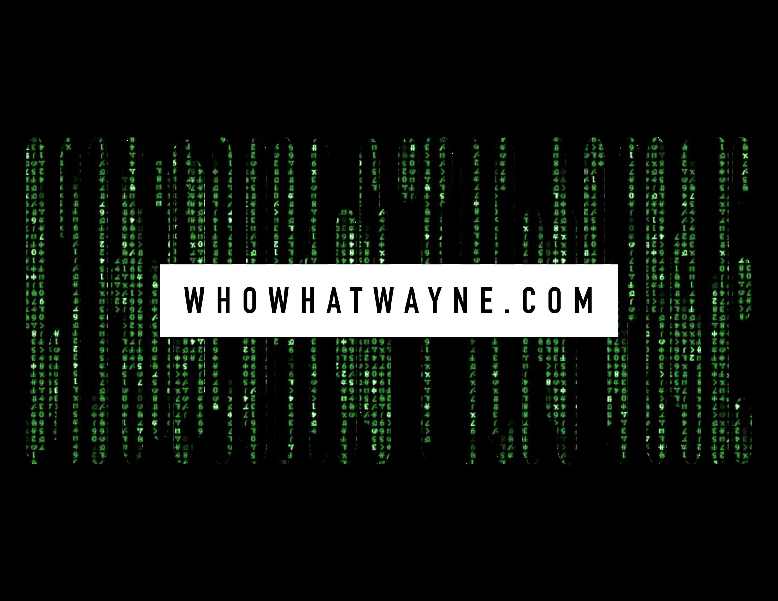 Who What Wayne
