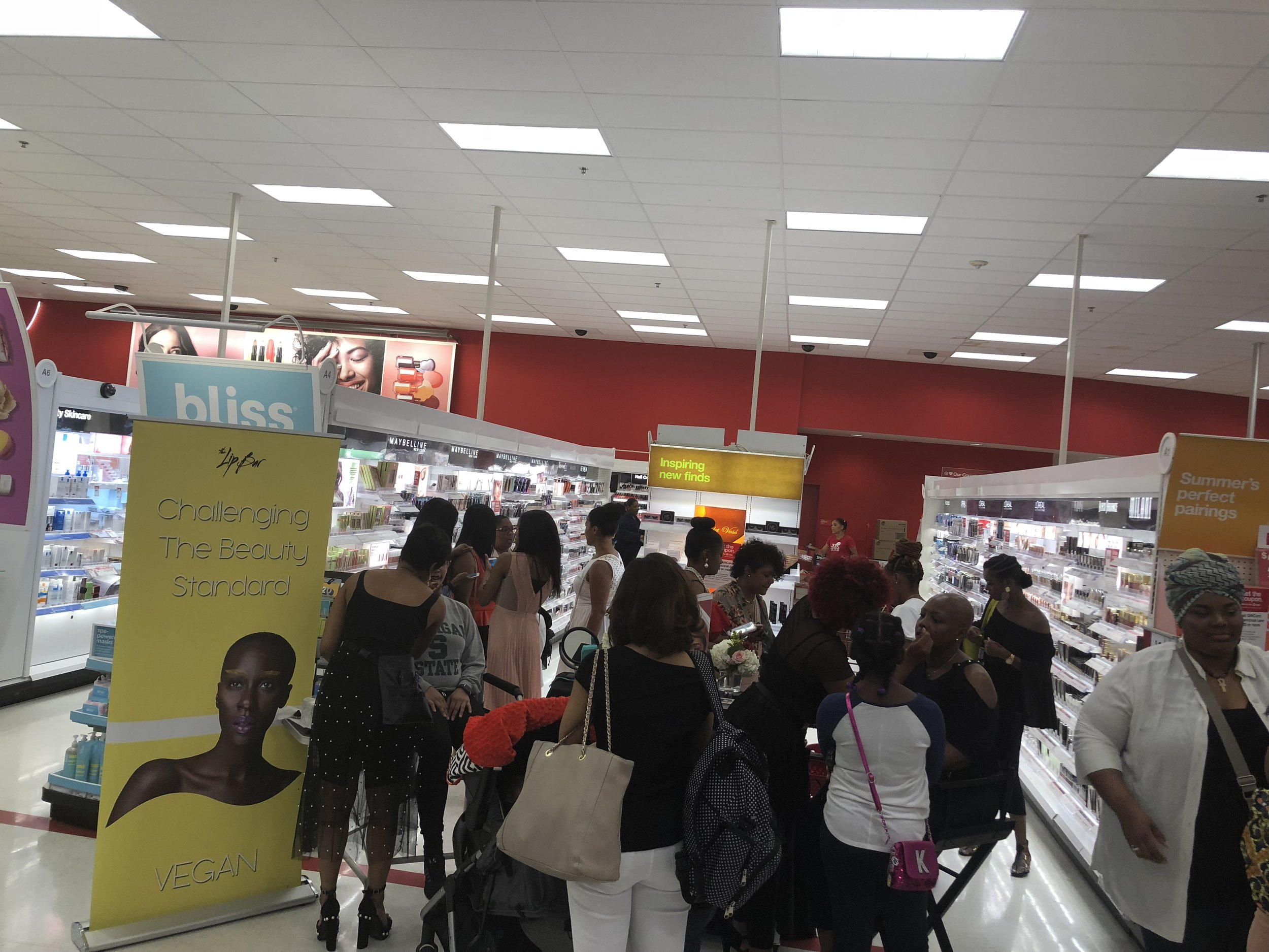 Photo from today's event at the Target located on Southfield Rd in Southfield, Mi.