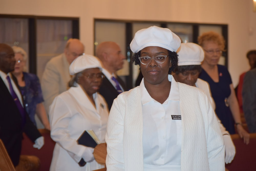Deaconess - Helping Our Worship to go smoothly