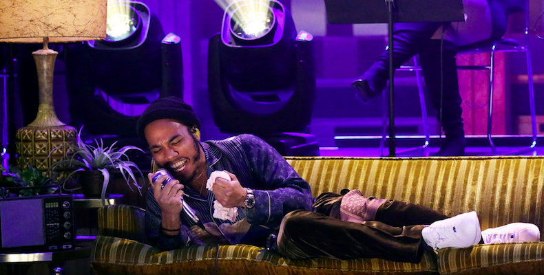 Anderson .Paak on his performance set on  The Tonight Show