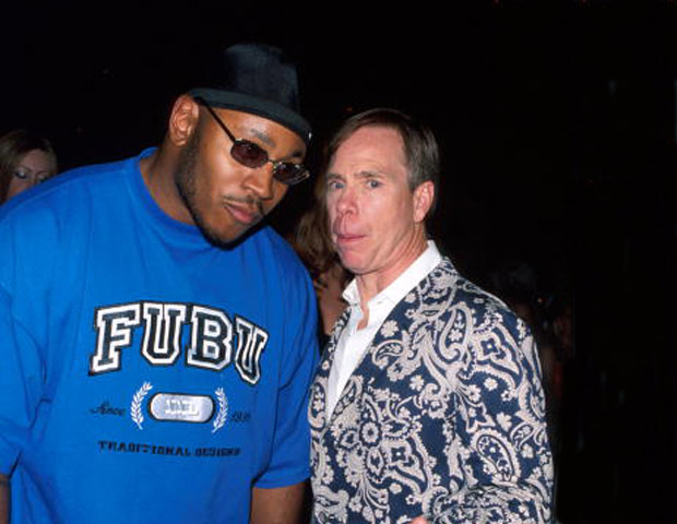 LL Cool J with Tommy Hilfiger