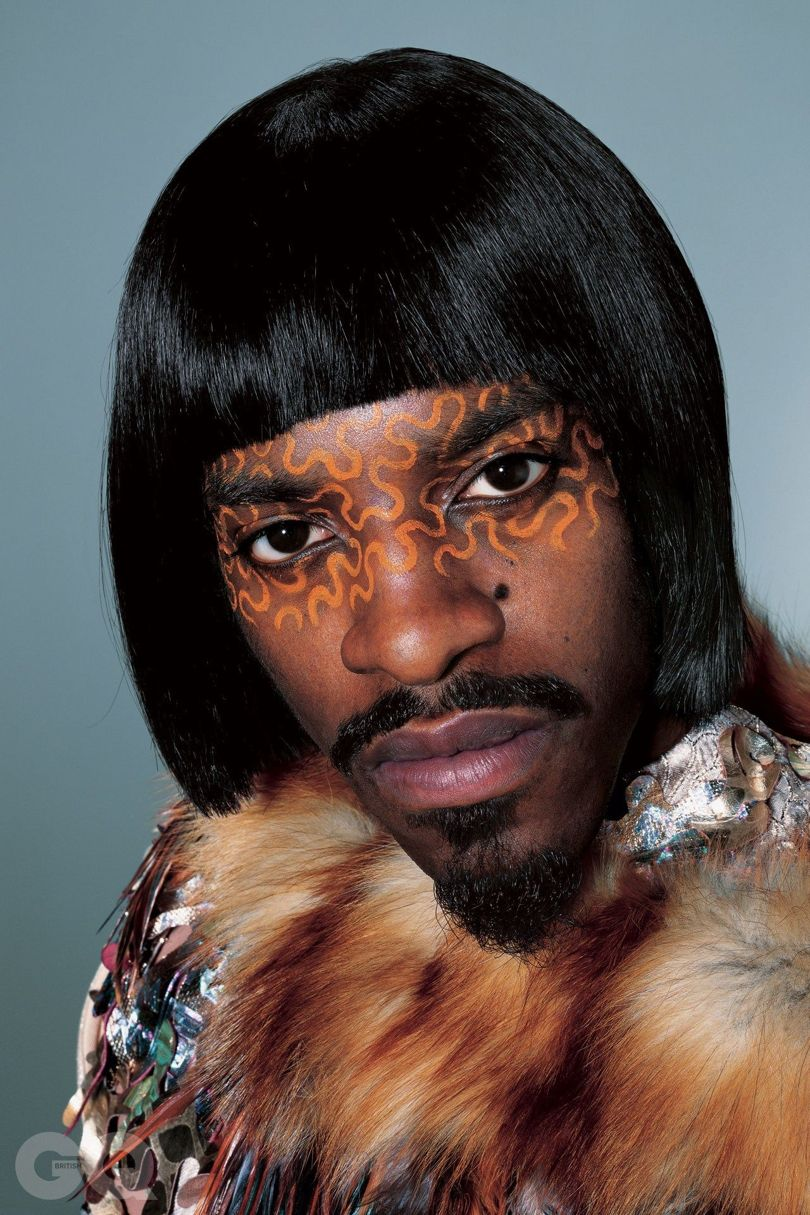 Andre 3000 for British GQ