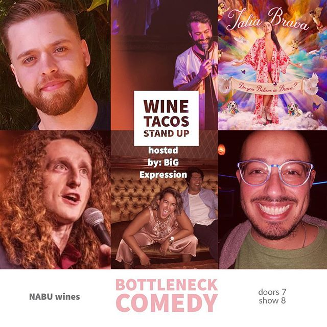 Tomorrow night @nabuwines we get wild with an incredible lineup. THURSDAY is the new Taco night. #westlakevillage #conejovalley #thingstodoinla #calabasas #malibuwine #winenight 8pm and awesome