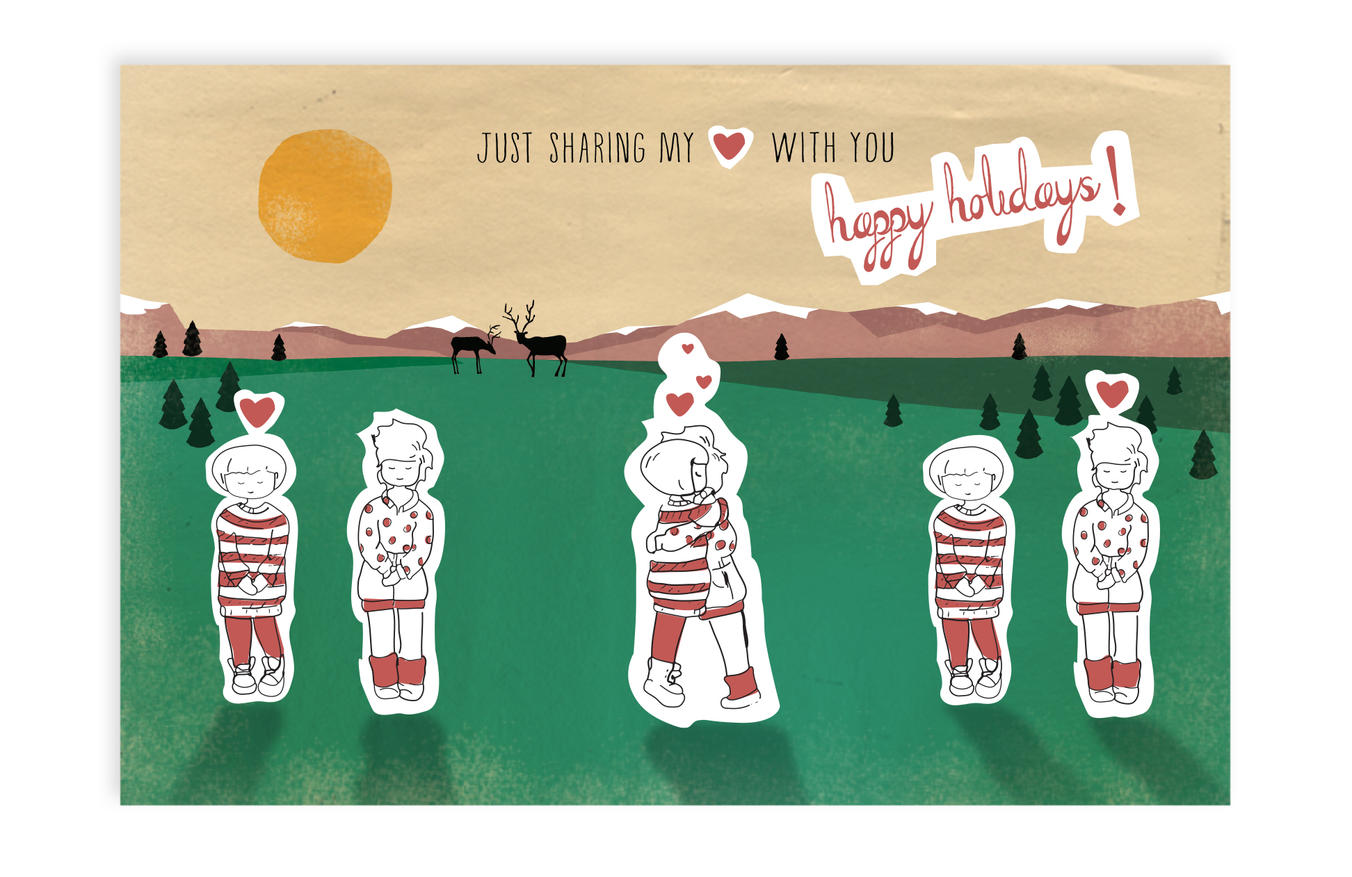 Designerly: Postcard Illustration