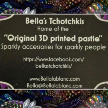 Bella's Tchoctckis - 3 D printed pasties