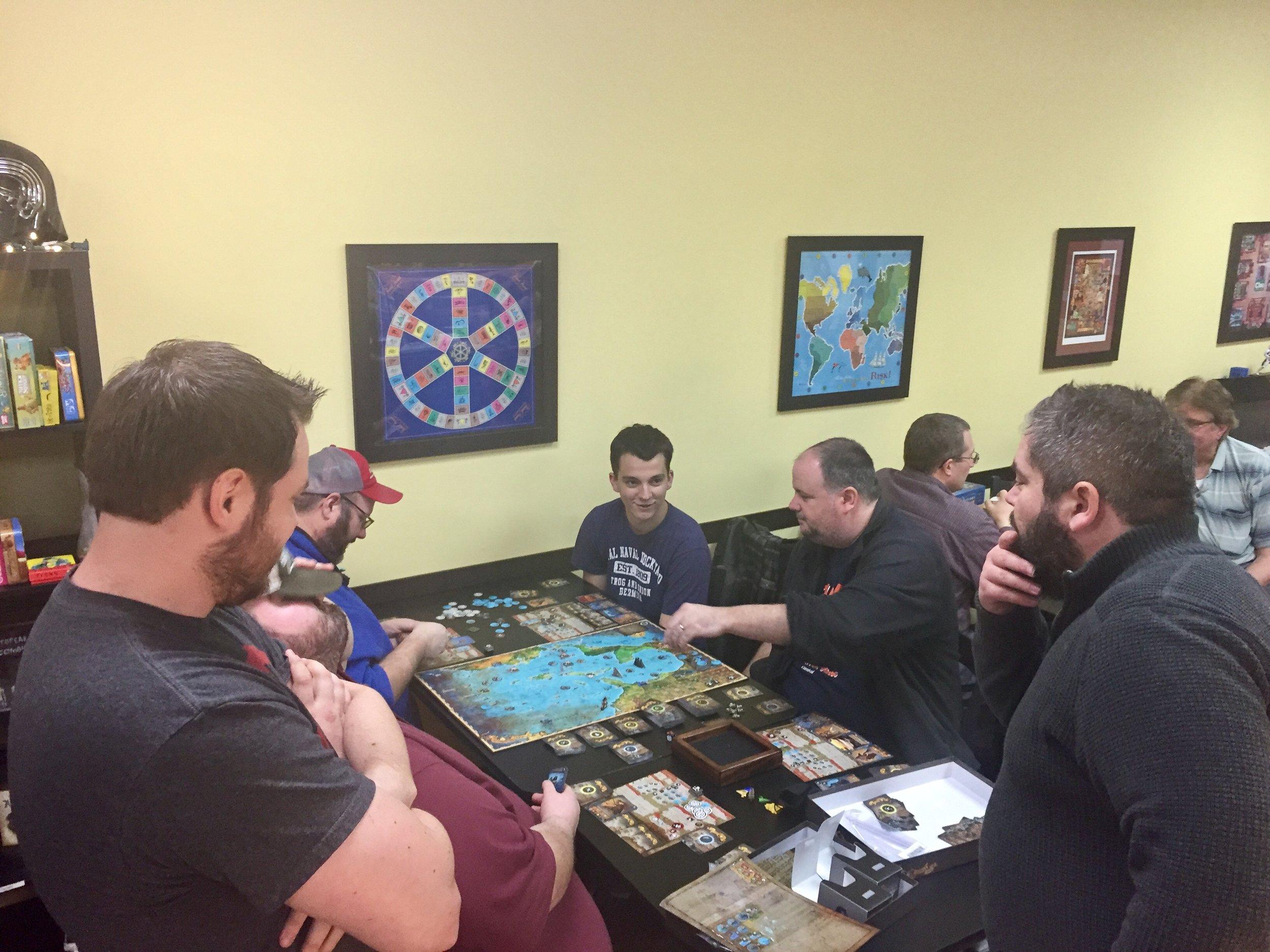 Game Table Cafe , Mechanicsburg, Pennsylvania