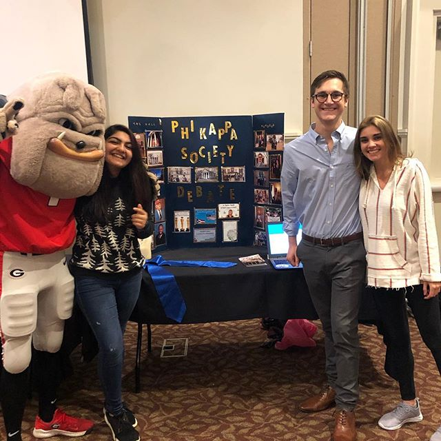 Sister Pandey, Sister Kirkland, Brother Dunn, and Hairy Dawg himself want YOU to come check out our Involvement Fair booth! We will be hanging out in the Tate Grand Hall until 2pm, so stop on by!