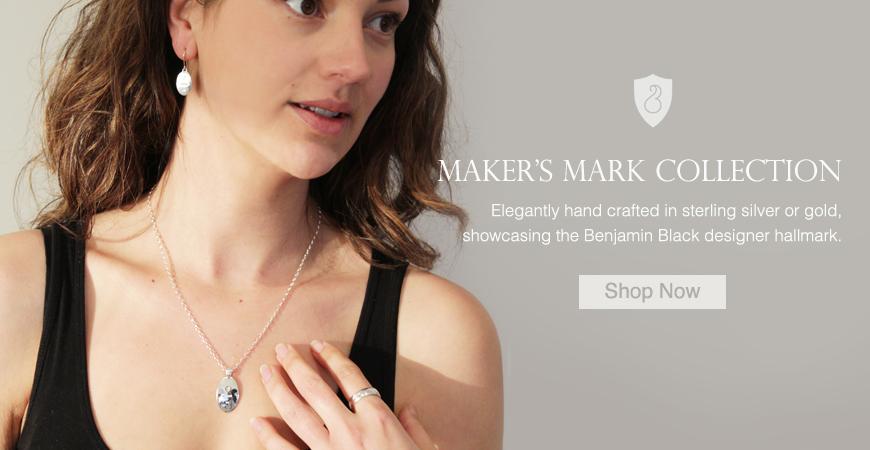 benjamin black goldsmiths  website advertisement