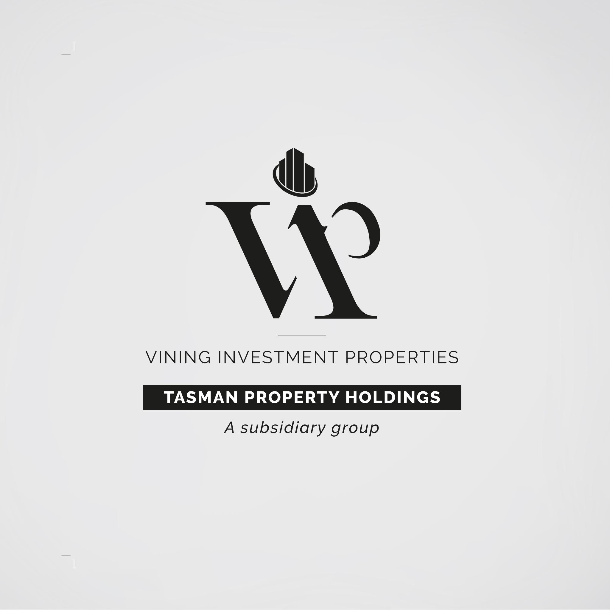 Vining Investment Properties  logo design