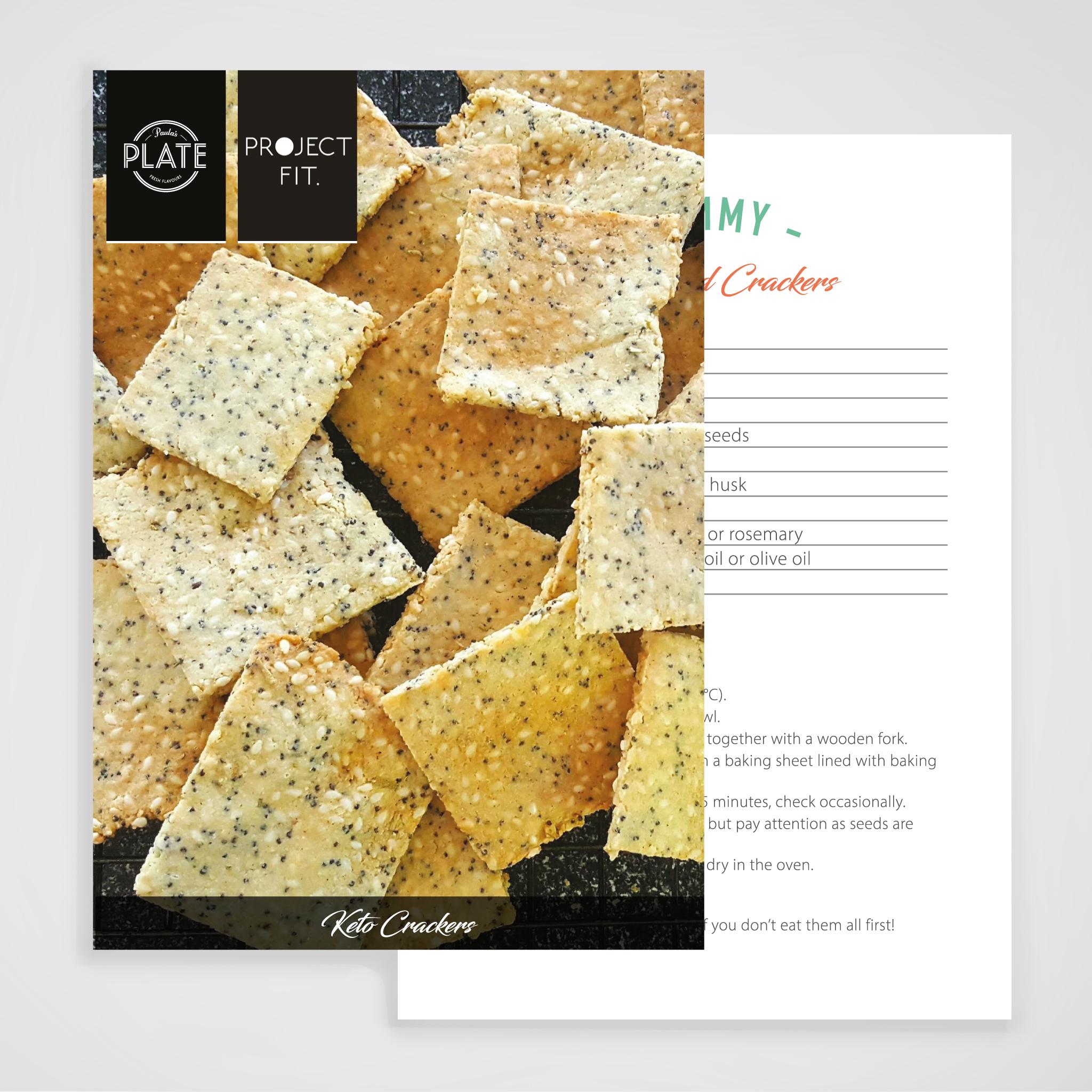 project fit  keto recipe handouts