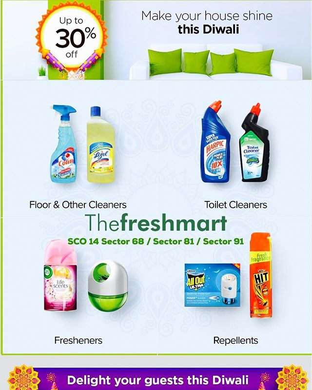 Your Store - Your Time - Shop Grocery in Leisure for Best Variety @ The Freshmart SCO 14, Sector 68, 81, 91 - Product Discounts & Bill Discounts & Much More !! www.thefreshmart.com#organic #mohali #mohali✌️