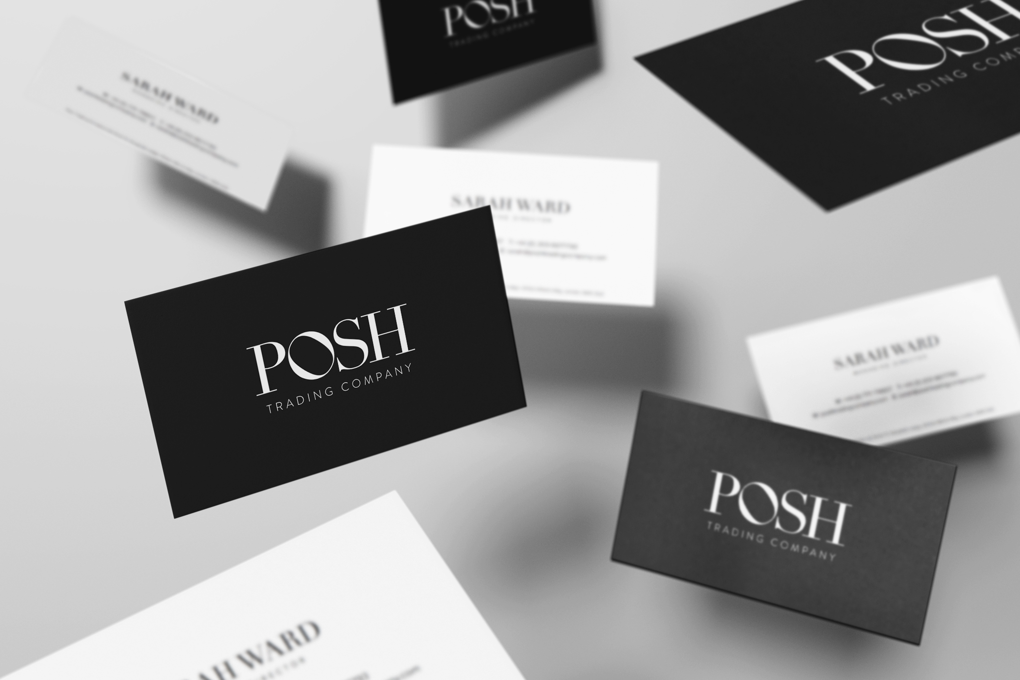 Posh Trading Business Cards