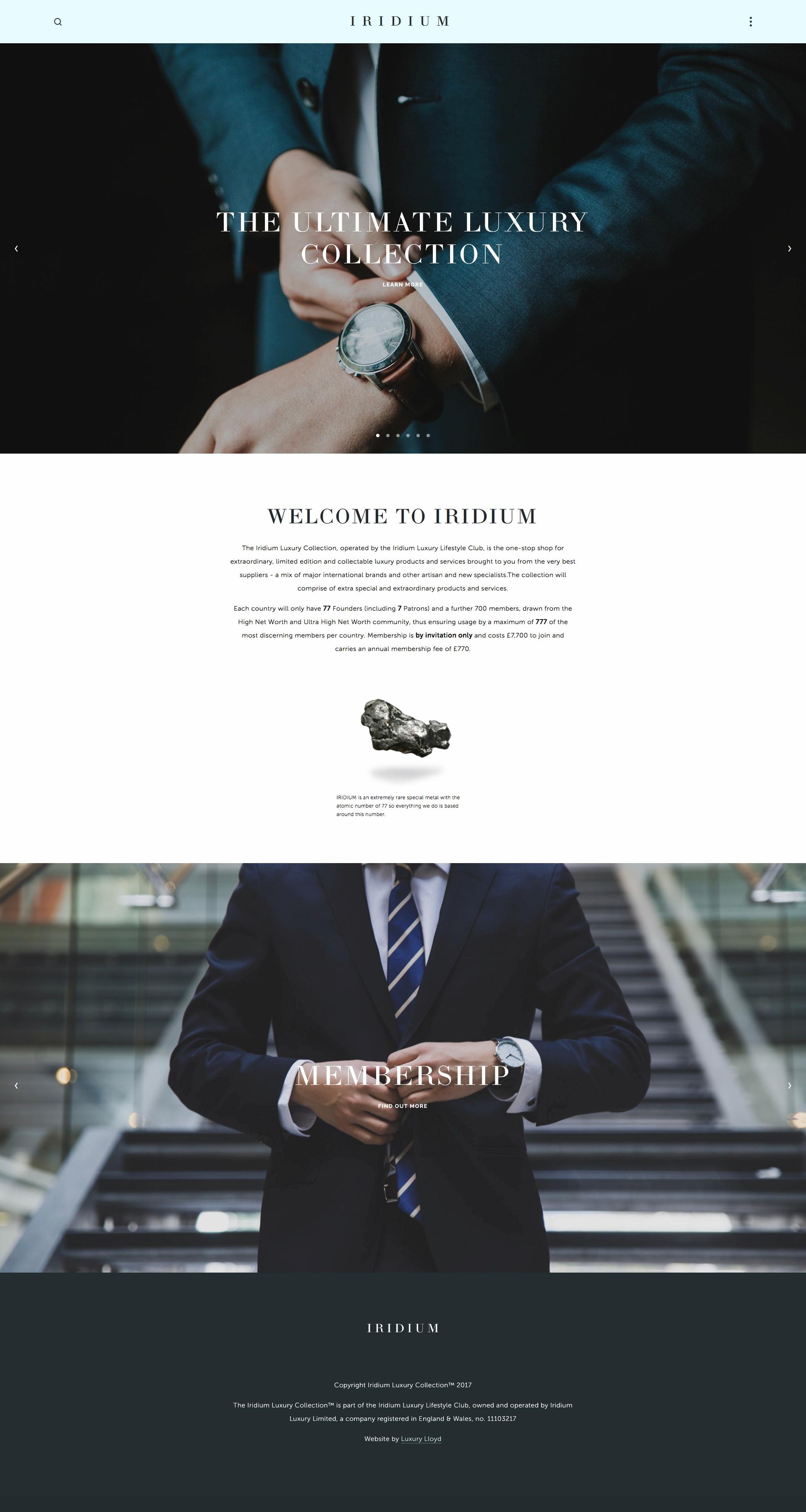 Iridium+Luxury