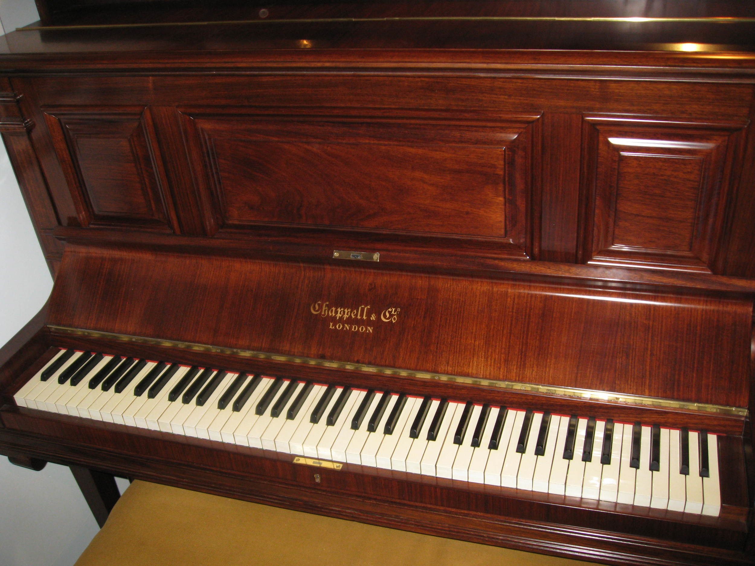 Chappell & Co Rosewood Upright