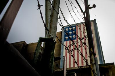 Iran USA Graffiti Tehran