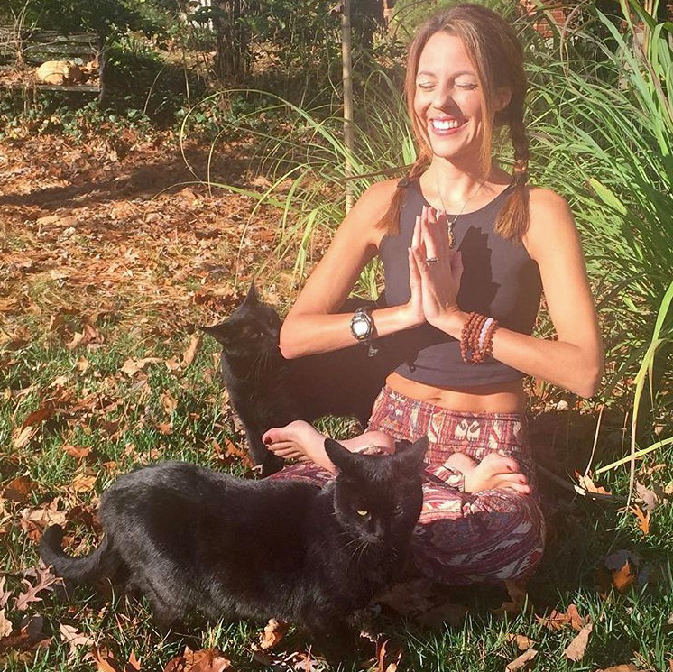 Libby McAvoy Yoga Cats