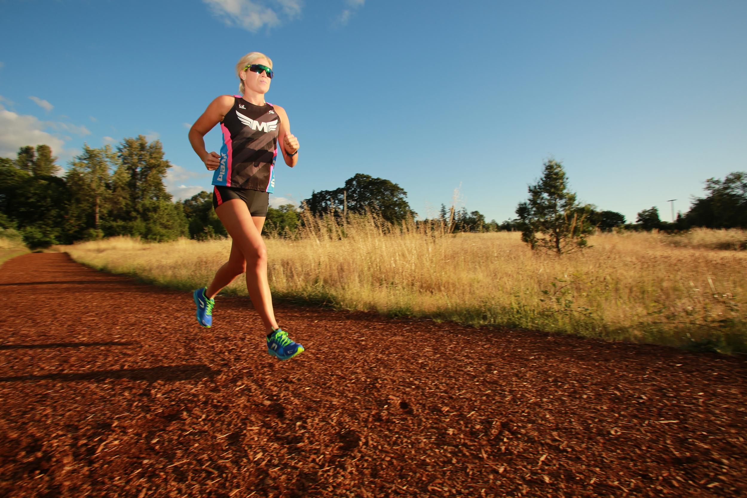 Mackenzie Madison, professional triathlete