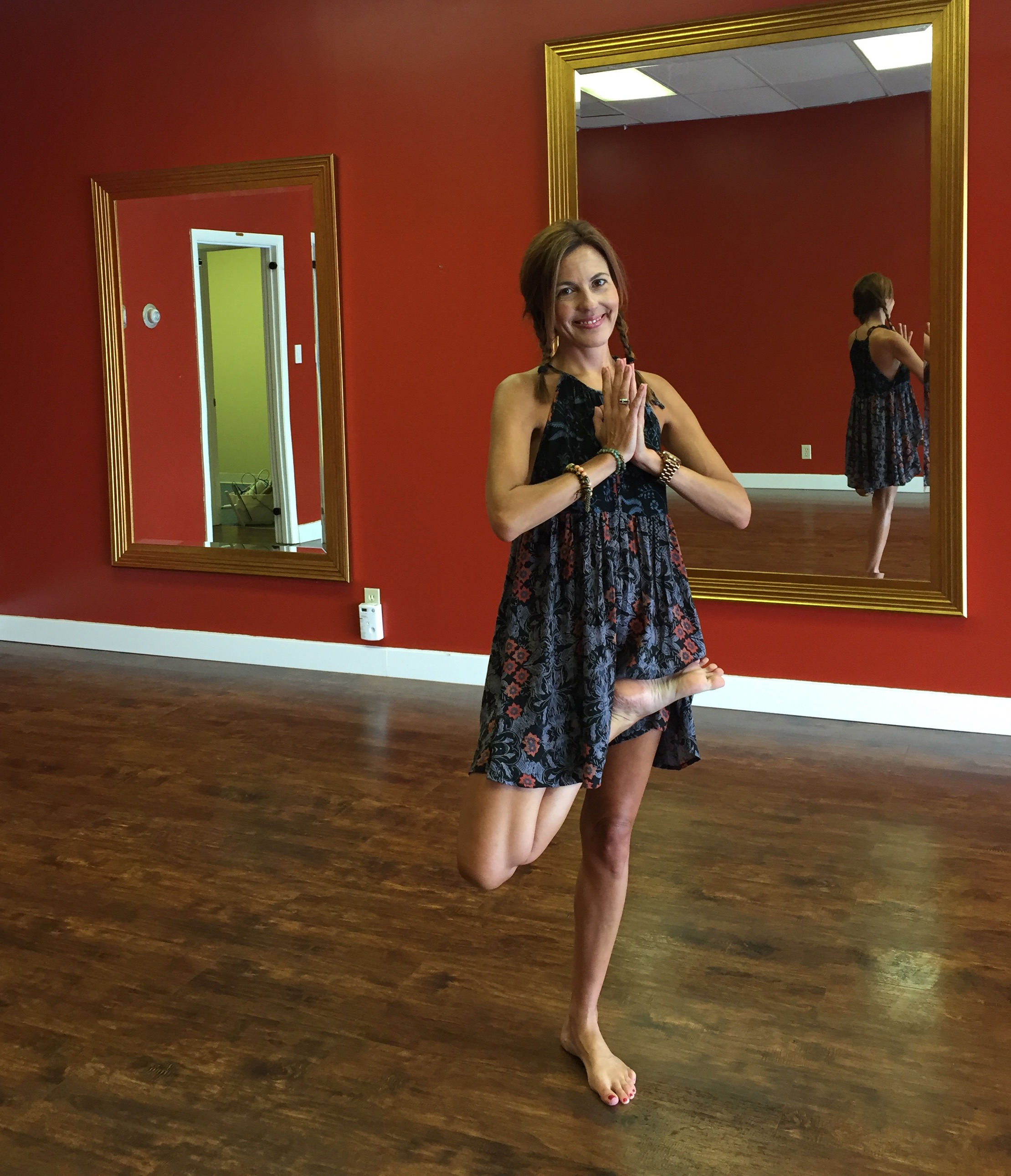 My last photo before turning in the keys to my studio. So grateful!