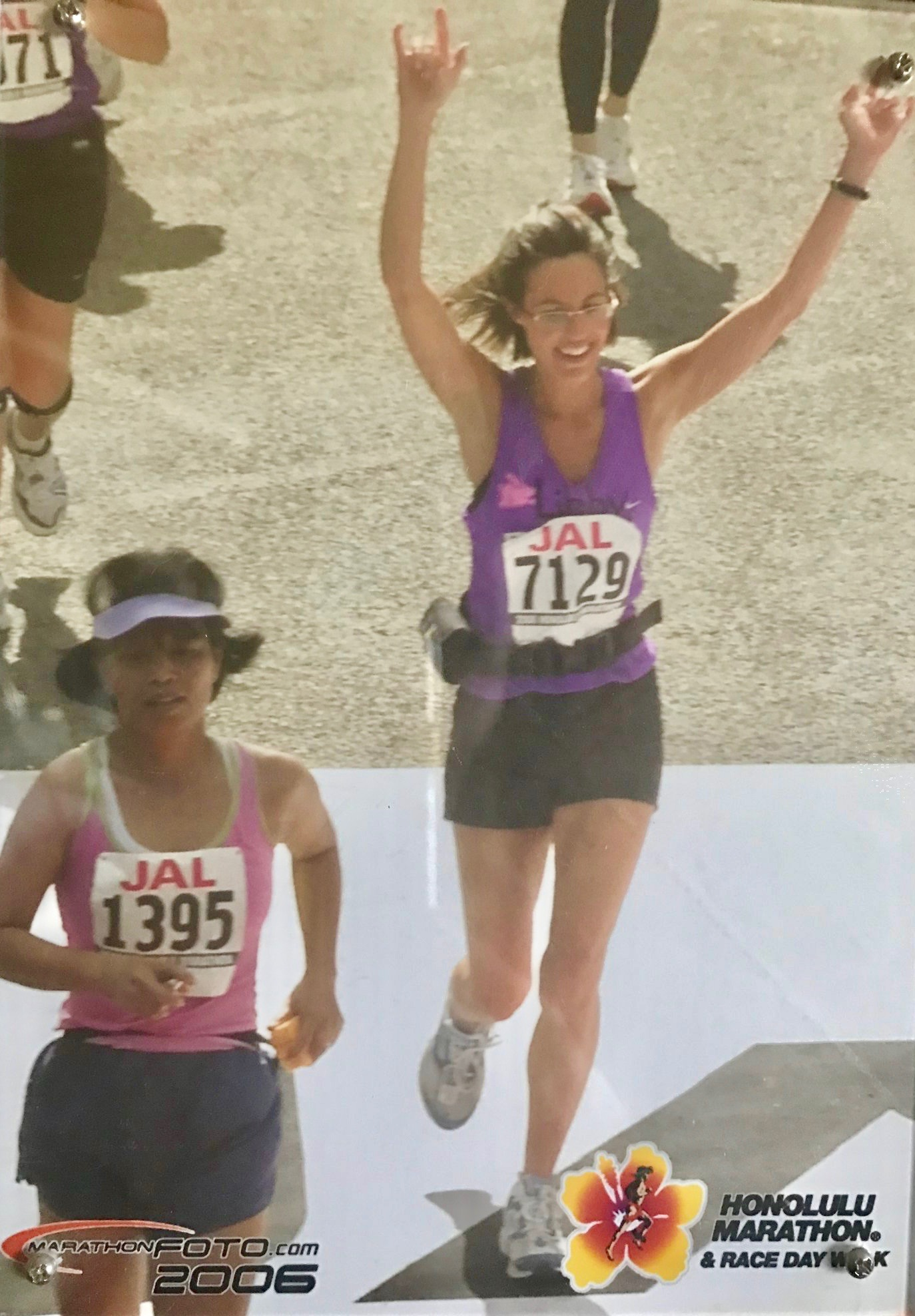 Endurance events teach us how to push on and gain mental strength. I learned this running the Honolulu Marathon.